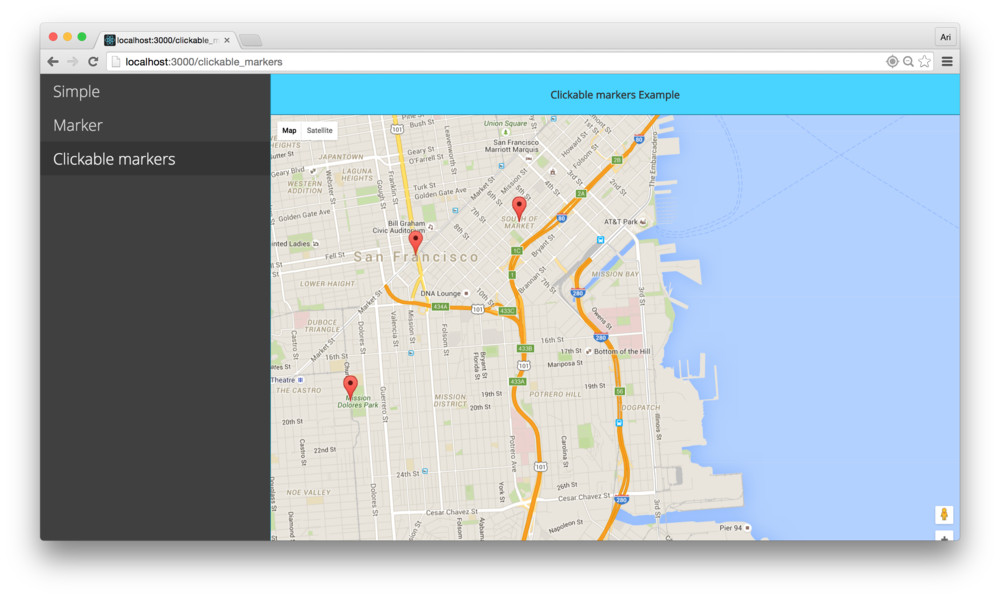 Fullstack react how to write a google maps react component table of contents gumiabroncs Images