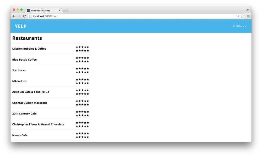 Fullstack React: React Tutorial: Cloning Yelp