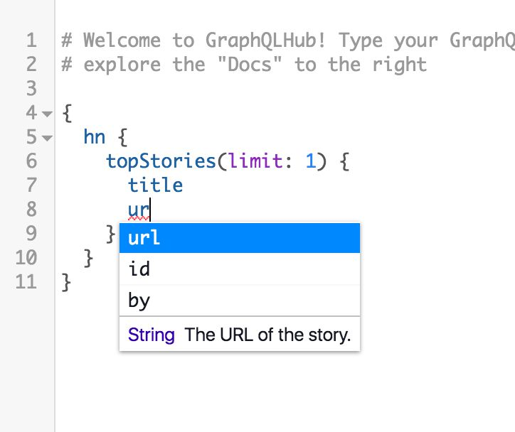 GraphiQL query