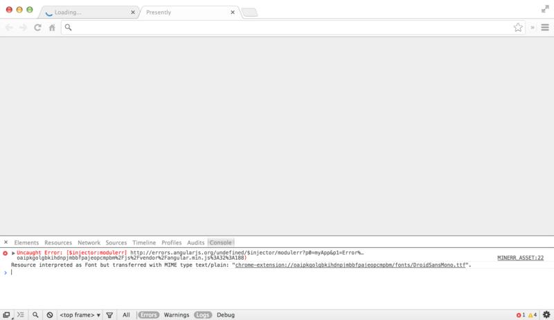 Building Angular Chrome Apps |