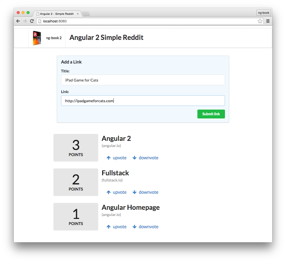 Writing your First Angular2 Web Application |